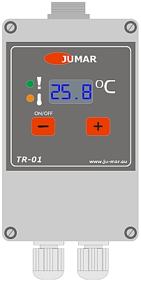 Controller for electric heaters TR-01